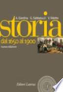 STORIA 2 DAL 1650 AL 1900
