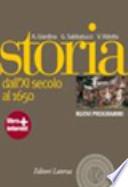STORIA 1 DALL'XI SECOLO AL 1650