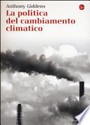 La politica del cambiamento climatico