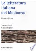 La letteratura italiana del Medioevo