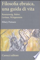 filosofia ebraica, una guida di vita. Rosenzweig, buber, levinas, wittgenstein