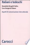Italiani e tedeschi aspetti di comunicazione interculturale