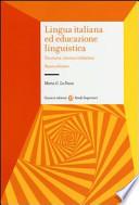 Lingua italiana educazione linguistica