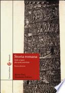 Storia romana - dalle oridini alla tarda antichità