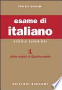 ESAME DI ITALIANO. PER LIC. E IM