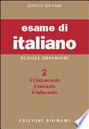 ESAME DI ITALIANO X LICEI-MAG.  Vol. 2