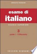 ESAME DI ITALIANO LICEI 3-1