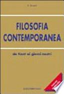filosofia contemporanea (da kant ai giorni nostri)
