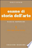 ESAME DI STORIA DELL`ARTE. PER CLA. E ART.