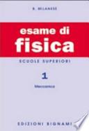 ESAME DI FISICA VOL.1 SUPERIORI