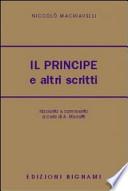 PRINCIPE E ALTRI SCRITTI