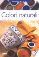 Colori naturali