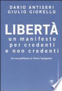 Libertà un manifesto per credenti e non credenti