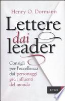 Lettere dai leader