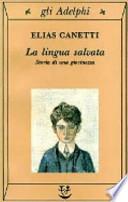 La lingua salvata storia di una giovinezza