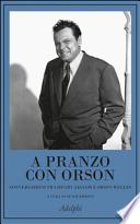 A pranzo con Orson
