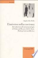 L'universo nella coscienza introduzione alla fenomenologia di Edmund Husserl, Edith Stein, Hedwig Conrad-Martius