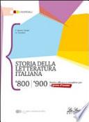 Storia della letteratura italiana 800-900