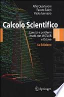 Calcolo Scientifico Esercizi e problemi risolti con MATLAB e Octave