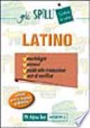 Latino - Morfologia sintassi guida alla traduzione test di verifica