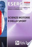 Alpha TestEsercitest 8 di scienze motorie e dello sport