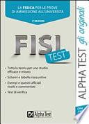 FisiTest -la Fisica per le prove di ammissione all'univeristà