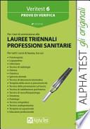 PROVE DI VERIFICA LAUREE TRIENNALI PROFESSIONI SANITARIE