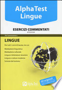 Alpha Test Lingue - Esercizi commentati 2016/2017