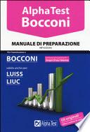 Alpha test Bocconi Luiss e Liuc manuale di preparazione 14edizione