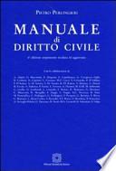 Manuale di diritto civile - 6° edizione ampiamente riveduta ed aggiornata