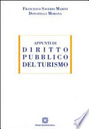 Appunti di diritto pubblico del turismo