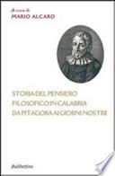 Storia del pensiero filosofico in Calabria da Pitagora ai giorni nostri
