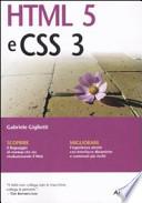 HTML 5 e CSS 3