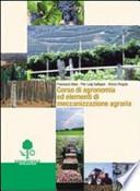 Corso di agronomia ed elementi di meccanizzazione agraria