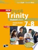 New pass Trinity student's Book grades 7-8 Ise II + CD