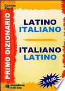 PRIMO DIZIONARIO LATINO- ITALIANO
