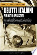 delitti italiani risolti o irrisolti