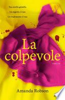 LA COLPEVOLE