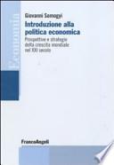 Introduzione Alla Politica Economica