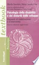 Psicologia della disabilità e dei disturbi dello sviluppo