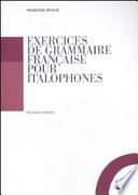 Exercices de grammaire française pour italophones