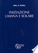 Iniziazione umana e solare