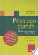 Psicologo domani - Volume 1
