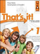 That's it! Extrabook. 1 Con espansione online. Per la Scuola media CON CD