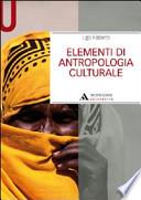 Elementi di Antropologia Culrurale