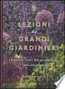 Lezioni da grandi giardinieri