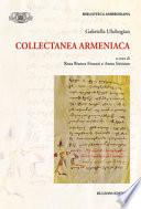 Collectanea Armeniaca: Biblioteca Ambrosiana/Fonti e Studi 27
