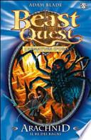 beast quest: l'armatura d'oro arachnid il re dei draghi