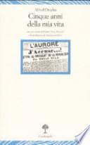 Cinque anni della mia vita (1894-1899)