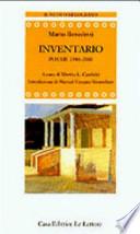 Inventario poesie 1948-2000